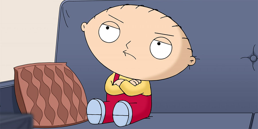 Family Guy character Stewie Griffin. Copyright: 20th Century Fox.