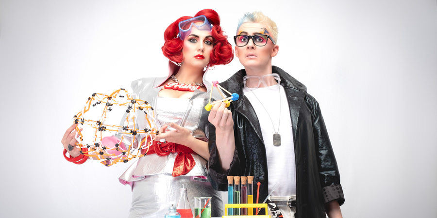 Frisky & Mannish. Image shows from L to R: Laura Corcoran, Matthew Floyd Jones.