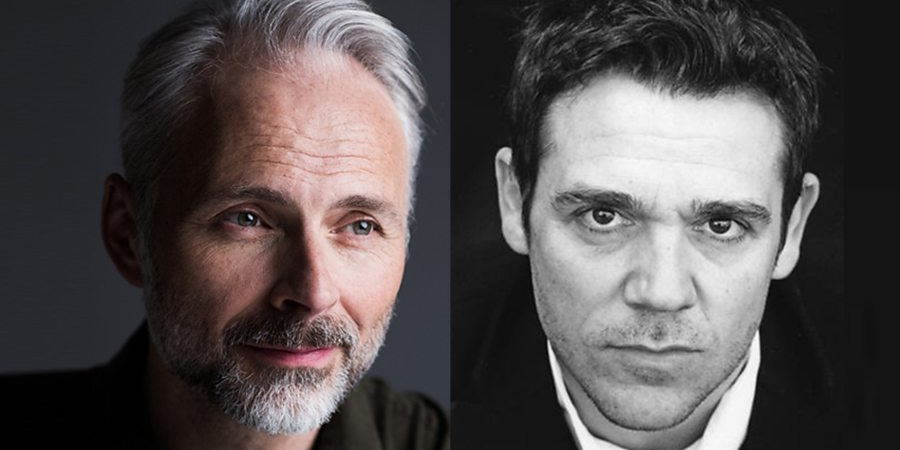 Image shows from L to R: Mark Bonnar, Jamie Sives.