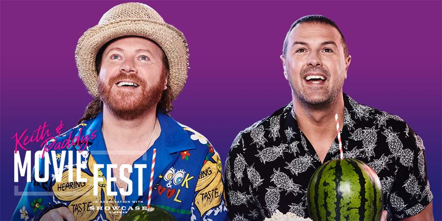 Keith Lemon & Paddy McGuinnes launch MovieFest screening events