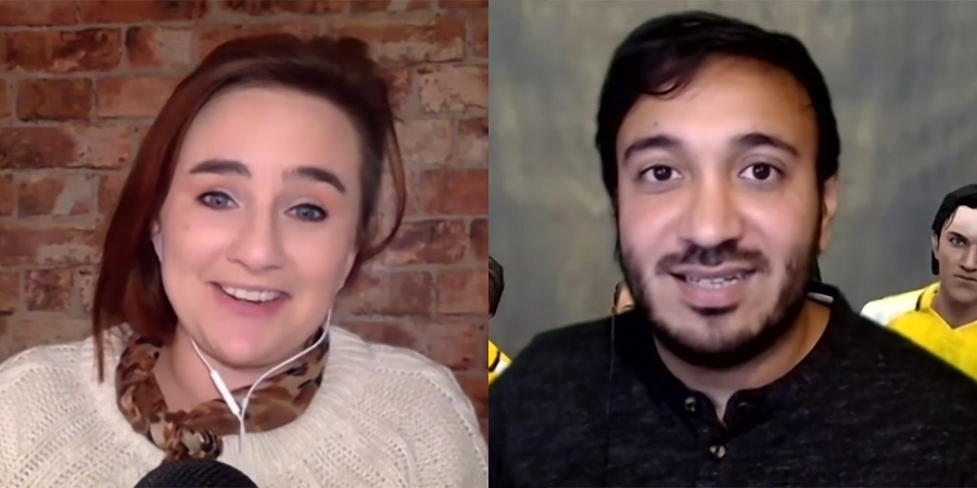 Image shows from L to R: Laura Lexx, Bilal Zafar.
