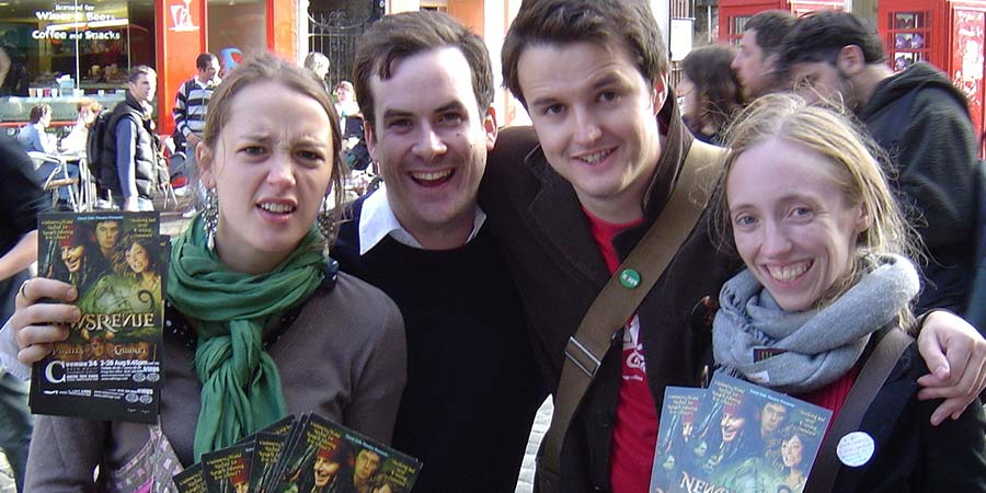 Image shows from L to R: Jessica Ransom, Andy Spiers, Ben Wilson, Gemma Arrowsmith.