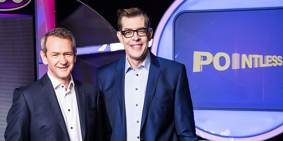 Pointless. Image shows from L to R: Alexander Armstrong, Richard Osman.