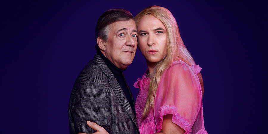 Sport Relief 2020 - Killing Steves. Image shows from L to R: Stephen Fry, David Walliams.