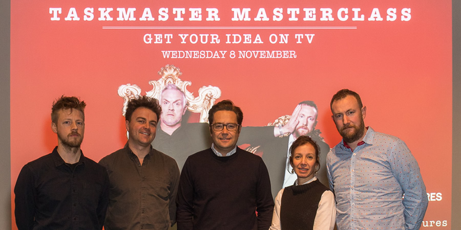 Taskmaster: Get Your Ideas On TV event. Copyright: RTS / Paul Hampartsoumian.
