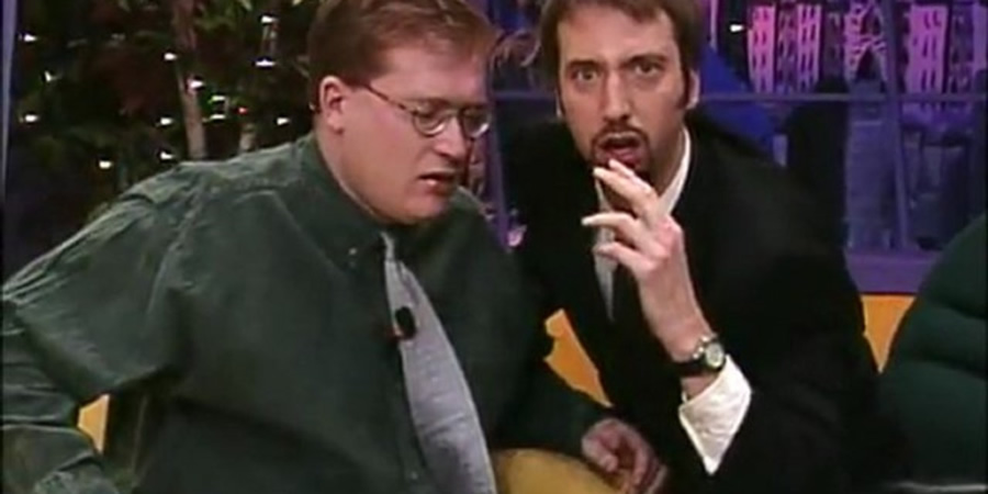 The Tom Green Show. Image shows from L to R: Unknown, Tom Green.
