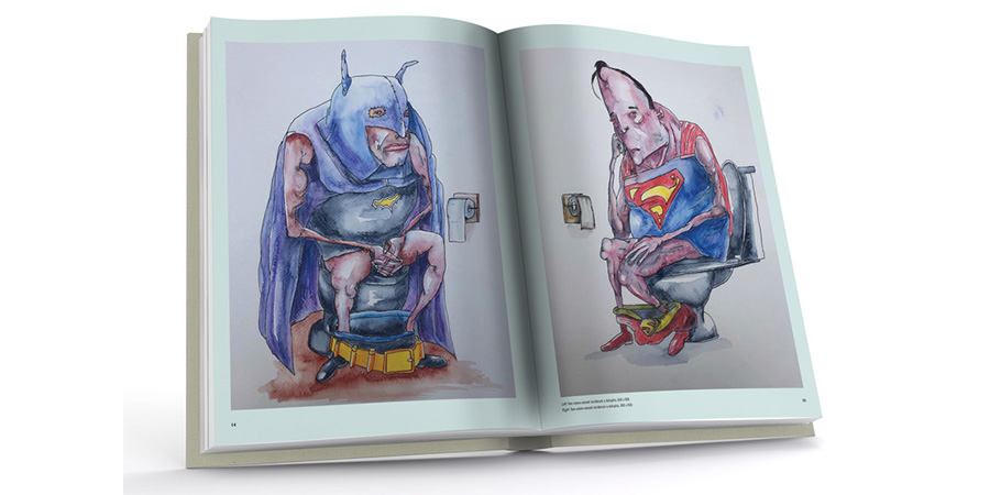 Vic Reeves Art Book. Vic Reeves. Copyright: Unbound.