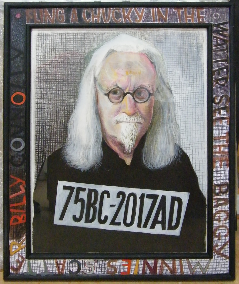 Billy Connolly: Portrait Of A Lifetime. Billy Connolly. Copyright: John Byrne.
