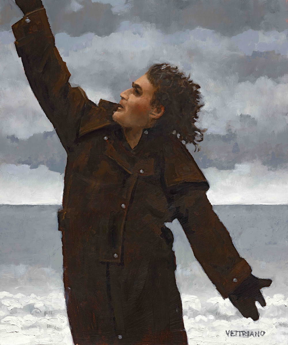 Dr Connolly, I Presume?. Billy Connolly. Copyright: Jack Vettriano.