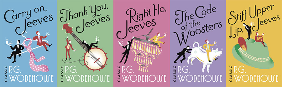 Summer of Wodehouse collection. Copyright: Arrow.