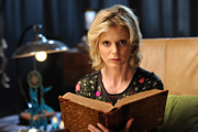 Crackanory. Emilia Fox. Copyright: Tiger Aspect Productions.