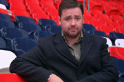 Eurogeddon: Why England Shouldn't Win Euro 2012. Jason Manford. Copyright: Channel X.