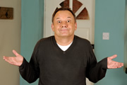House Of Fools. Bob (Bob Mortimer). Copyright: BBC / Pett Productions.