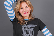 Jo Caulfield's Speakeasy. Jo Caulfield. Copyright: Dabster Productions.