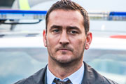 No Offence. D.C. Spike Tanner (Will Mellor). Copyright: AbbottVision.