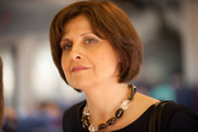 The Thick Of It. Nicola Murray (Rebecca Front). Image credit: British Broadcasting Corporation.