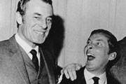 The Bona History Of Julian And Sandy. Image shows from L to R: Hugh Paddick, Kenneth Williams. Copyright: BBC.