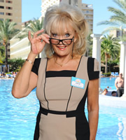 Benidorm. Joyce (Sherrie Hewson). Image credit: Tiger Aspect Productions.
