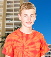 Benidorm. Michael Garvey (Oliver Stokes). Image credit: Tiger Aspect Productions.