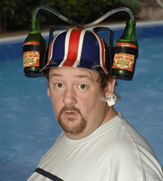 Benidorm. The Oracle (Johnny Vegas). Image credit: Tiger Aspect Productions.