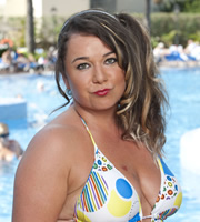 Benidorm. Sam (Shelley Longworth). Image credit: Tiger Aspect Productions.