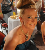 Benidorm. Trudy (Michelle Butterly). Image credit: Tiger Aspect Productions.