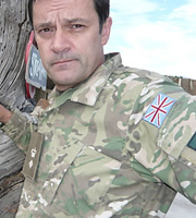 Bluestone 42. Lt Col Smith (Tony Gardner). Image credit: British Broadcasting Corporation.