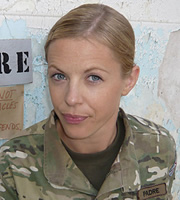 Bluestone 42. Mary (Kelly Adams). Copyright: BBC.