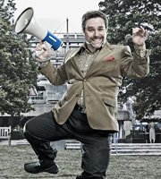Campus. Jonty de Wolfe (Andy Nyman). Image credit: Monicker Pictures.