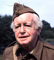 Dad's Army. Private Godfrey (Arnold Ridley). Copyright: BBC.