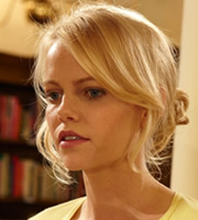 Episodes. Morning Randolph (Mircea Monroe). Copyright: Hat Trick Productions / BBC.
