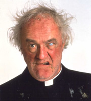 Father Ted. Father Jack Hackett (Frank Kelly). Copyright: Hat Trick Productions.