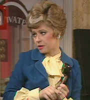 Fawlty Towers. Sybil Fawlty (Prunella Scales). Copyright: BBC.