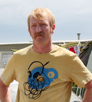 Gavin & Stacey. Dave (Steffan Rhodri). Copyright: Baby Cow Productions.