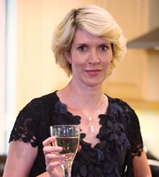 Gavin & Stacey. Dawn (Julia Davis). Image credit: Baby Cow Productions.
