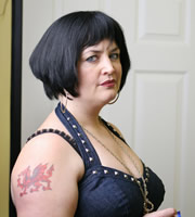 Gavin & Stacey. Nessa (Ruth Jones). Image credit: Baby Cow Productions.