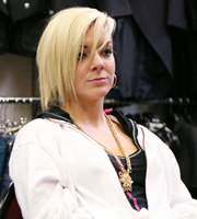 Gavin & Stacey. Rudi (Sheridan Smith). Image credit: Baby Cow Productions.