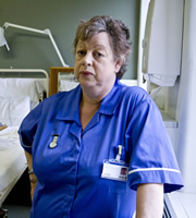 Getting On. Nurse Kim Wilde (Jo Brand). Copyright: Vera Productions.