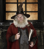Terry Pratchett's Going Postal. Mustrum Ridcully (Timothy West). Copyright: The Mob Film Co.