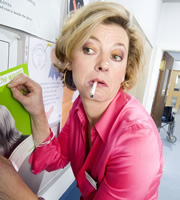 Green Wing. Joanna Clore (Pippa Haywood). Copyright: Talkback Productions.