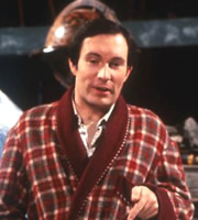 The Hitchhiker's Guide To The Galaxy. Arthur Dent (Simon Jones). Image credit: British Broadcasting Corporation.