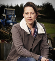 Last Tango In Halifax. Gillian (Nicola Walker). Image credit: Red Production Company.