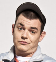 Mrs. Brown's Boys. Buster Brady (Danny O'Carroll). Image credit: British Broadcasting Corporation.