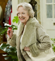 Mrs. Brown's Boys. Hillary Nicholson (Susie Blake). Image credit: British Broadcasting Corporation.