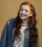 My Mad Fat Diary. Izzy (Ciara Baxendale). Copyright: Tiger Aspect Productions.