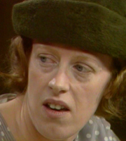 Nearest And Dearest. Lily Tattershall (Madge Hindle). Image credit: Granada Television.