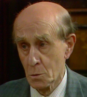 Nearest And Dearest. Walter Tattershall (Edward Malin). Image credit: Granada Television.