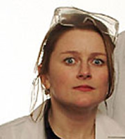 Nebulous. Paula Breeze (Rosie Cavaliero). Image credit: British Broadcasting Corporation.