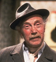 Only Fools And Horses. Grandad (Lennard Pearce). Image credit: British Broadcasting Corporation.