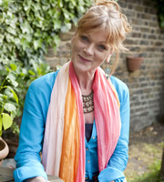 Outnumbered. Auntie Angela (Samantha Bond). Image credit: Hat Trick Productions.
